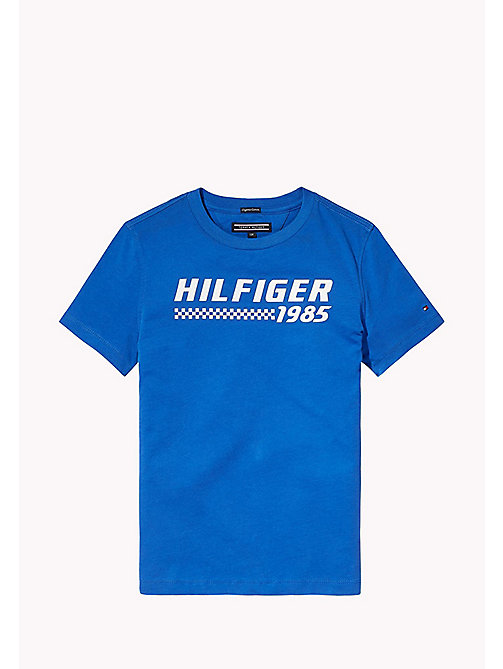 TOMMY HILFIGER T-Shirt mit Logo - NAUTICAL BLUE - TOMMY HILFIGER T-shirts & Poloshirts - main image