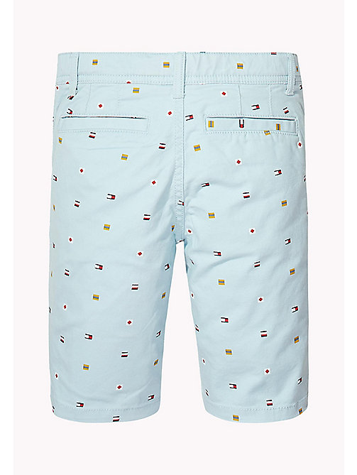TOMMY HILFIGER Flag Print Chino Shorts - STRATOSPHERE -  Trousers & Shorts - detail image 1