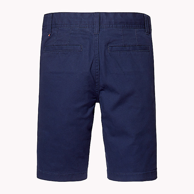 TOMMY HILFIGER Knee Length Chino Shorts - FLAME SCARLET - TOMMY HILFIGER Kids - detail image 1