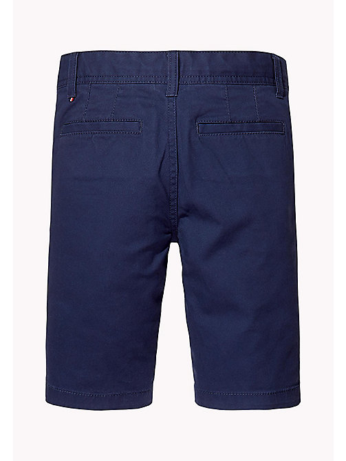 TOMMY HILFIGER Knee Length Chino Shorts - BLACK IRIS - TOMMY HILFIGER Trousers & Shorts - detail image 1
