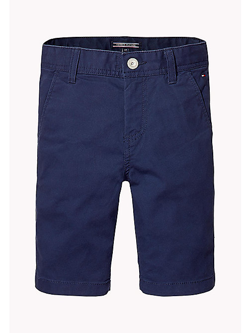 TOMMY HILFIGER Knee Length Chino Shorts - BLACK IRIS - TOMMY HILFIGER Trousers & Shorts - main image