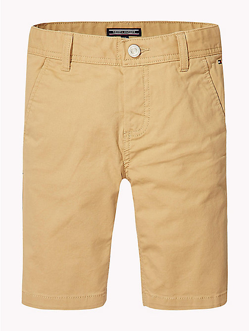 TOMMY HILFIGER Knee Length Chino Shorts - CURDS & WHEY - TOMMY HILFIGER Boys - detail image 1