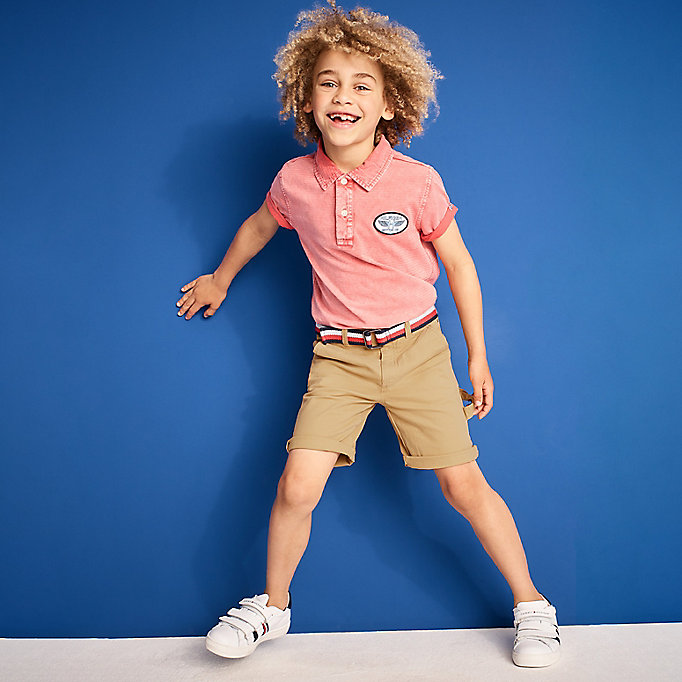 TOMMY HILFIGER Knee Length Chino Shorts - STRATOSPHERE - TOMMY HILFIGER Kids - main image