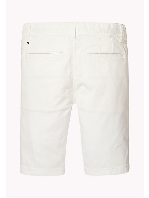 TOMMY HILFIGER Knee Length Chino Shorts - BRIGHT WHITE - TOMMY HILFIGER Boys - detail image 1