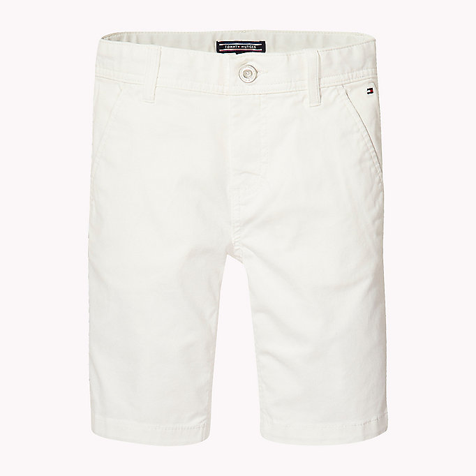 TOMMY HILFIGER Knee Length Chino Shorts - BLACK IRIS - TOMMY HILFIGER Enfants - image principale