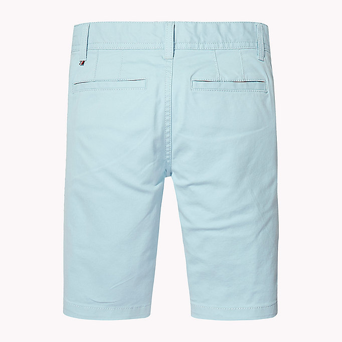 TOMMY HILFIGER Knee Length Chino Shorts - BRIGHT WHITE - TOMMY HILFIGER Kids - detail image 1