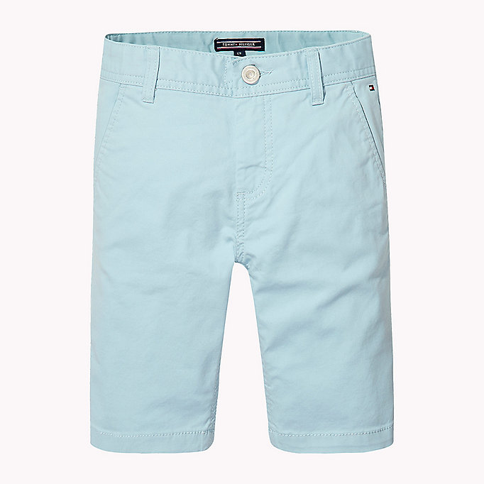 TOMMY HILFIGER Knee Length Chino Shorts - BRIGHT WHITE - TOMMY HILFIGER Enfants - image principale