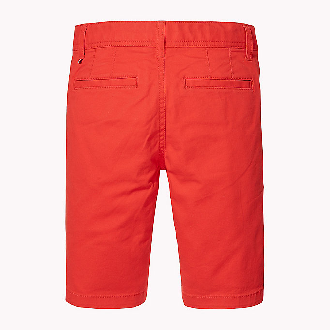 TOMMY HILFIGER Knee Length Chino Shorts - CUSTARD - TOMMY HILFIGER Enfants - image détaillée 1