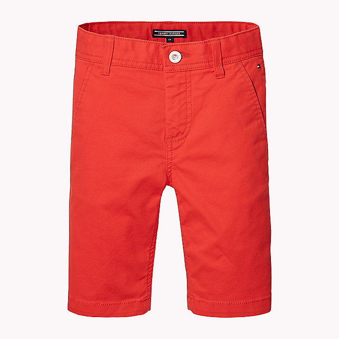 TOMMY HILFIGER Knee Length Chino Shorts - CUSTARD - TOMMY HILFIGER Kids - main image