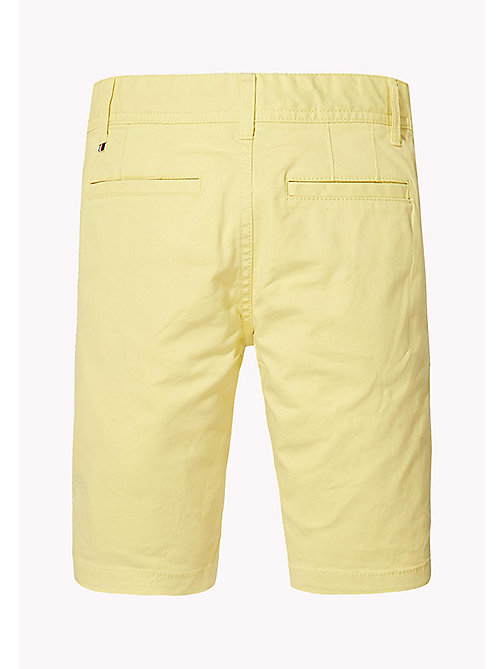TOMMY HILFIGER Knee Length Chino Shorts - CUSTARD - TOMMY HILFIGER Trousers & Shorts - detail image 1