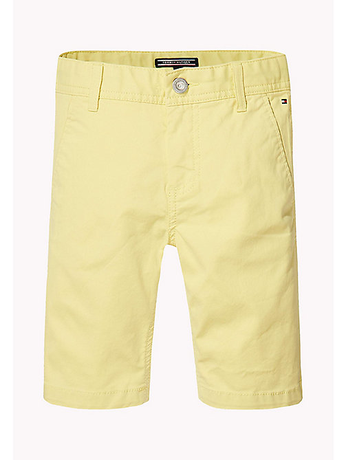 TOMMY HILFIGER Knee Length Chino Shorts - CUSTARD - TOMMY HILFIGER Bambini - immagine principale