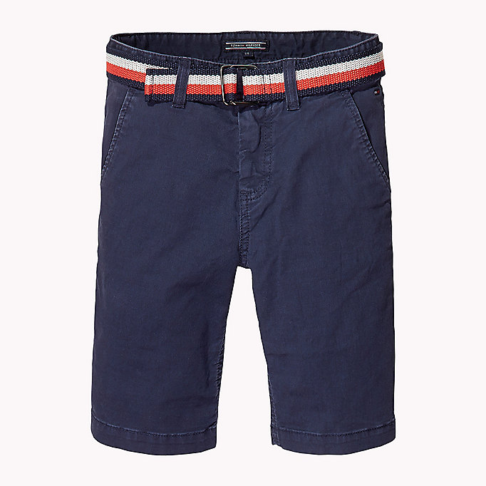 TOMMY HILFIGER Slim Fit Chino Shorts - TOMMY BLACK - TOMMY HILFIGER Kids - main image