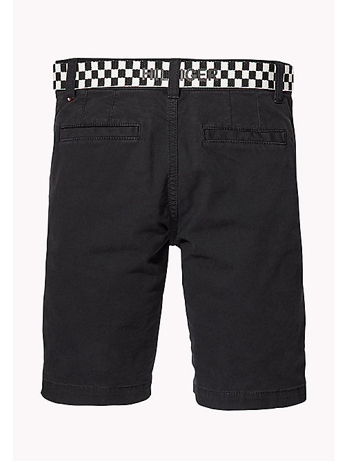 TOMMY HILFIGER Slim Fit Chino Shorts - TOMMY BLACK - TOMMY HILFIGER Trousers & Shorts - detail image 1