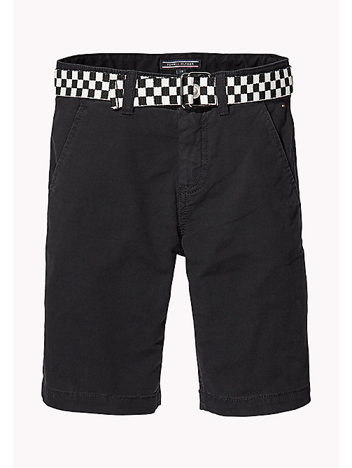 TOMMY HILFIGER Slim Fit Chino Shorts - TOMMY BLACK - TOMMY HILFIGER Trousers & Shorts - main image