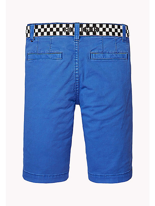 TOMMY HILFIGER Wąskie szorty w stylu chinosów - NAUTICAL BLUE - TOMMY HILFIGER Trousers & Shorts - detail image 1