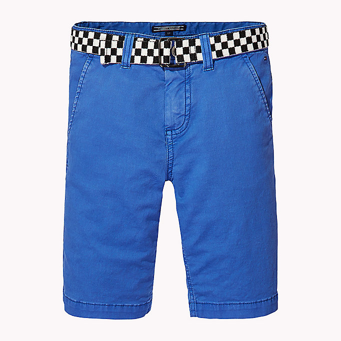 TOMMY HILFIGER Slim Fit Chino Shorts - BLACK IRIS - TOMMY HILFIGER Kids - main image