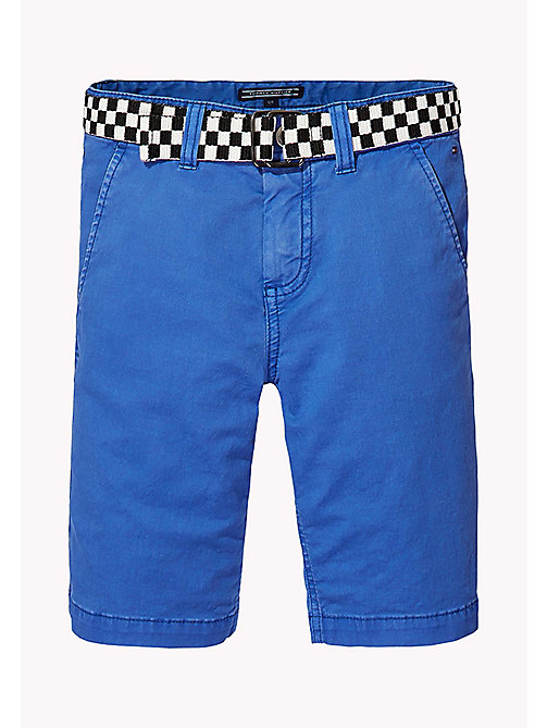 TOMMY HILFIGER Slim Fit Chino Shorts - NAUTICAL BLUE - TOMMY HILFIGER Trousers & Shorts - main image