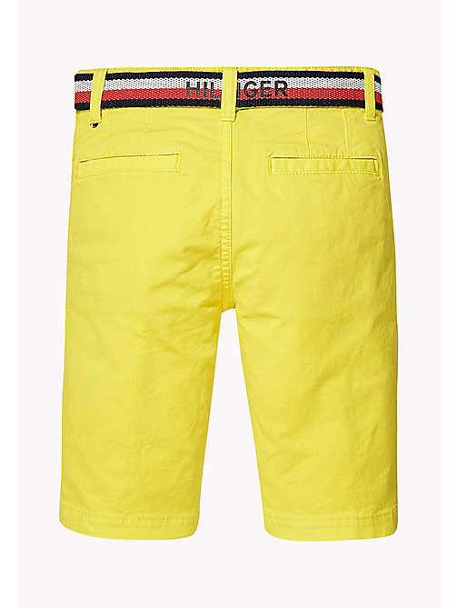 TOMMY HILFIGER Wąskie szorty w stylu chinosów - EMPIRE YELLOW - TOMMY HILFIGER Trousers & Shorts - detail image 1