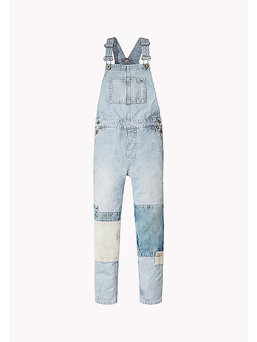 TOMMY HILFIGER Railroad Stripe Denim Dungarees - RAIL ROAD STRIPE - TOMMY HILFIGER Jeans - detail image 1