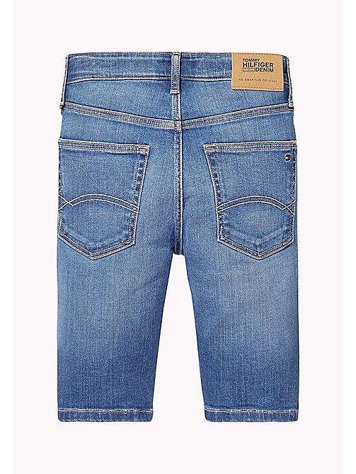 TOMMY HILFIGER Relaxed Fit Denim Shorts - CLIFTON MID BLUE STRETCH - TOMMY HILFIGER Jeans - detail image 1