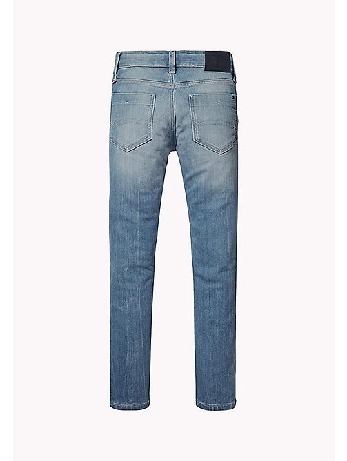 TOMMY HILFIGER Slim Fit Denim Jeans - ROBUST LIGHT DENIM - TOMMY HILFIGER Jeans - detail image 1
