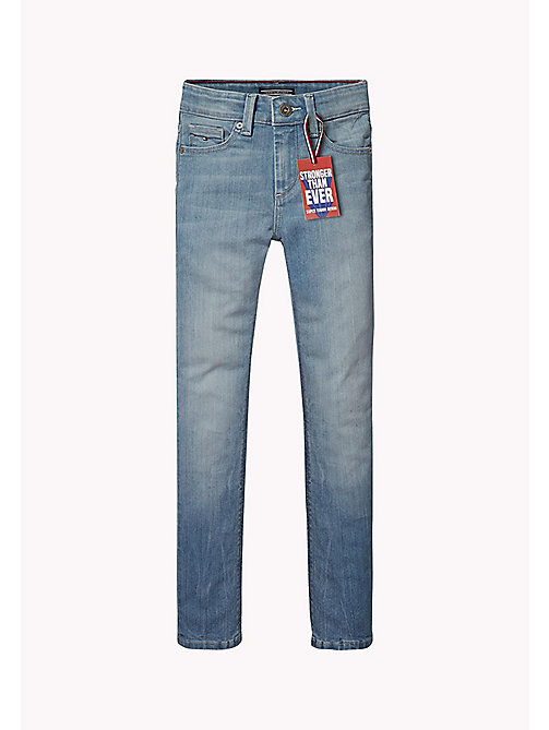 TOMMY HILFIGER Slim Fit Denim Jeans - ROBUST LIGHT DENIM - TOMMY HILFIGER Boys - main image