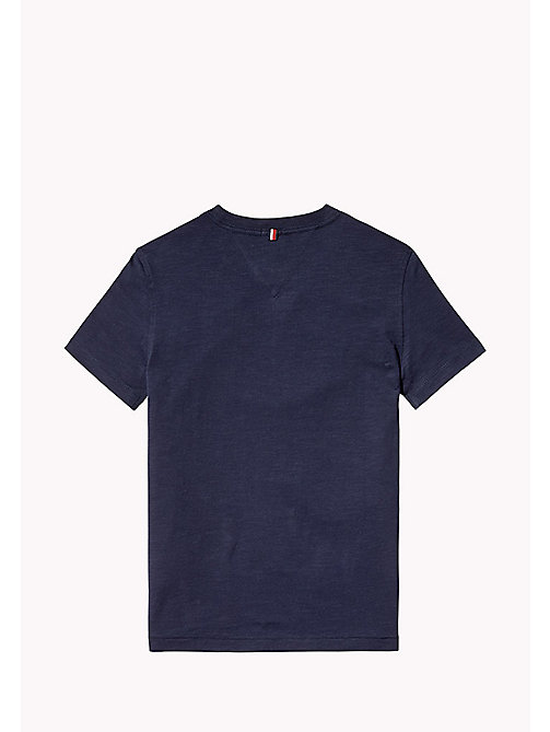 TOMMY HILFIGER Fun Pocket T-Shirt - BLACK IRIS - TOMMY HILFIGER T-shirts & Polos - detail image 1