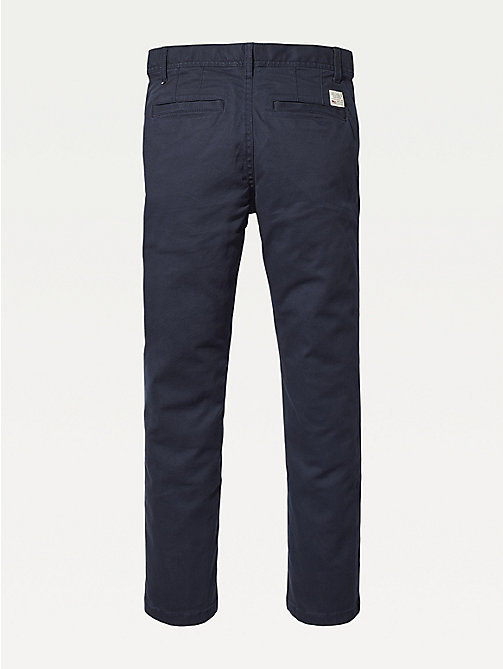 TOMMY HILFIGER Slim fit chino - SKY CAPTAIN - TOMMY HILFIGER Broeken - detail image 1