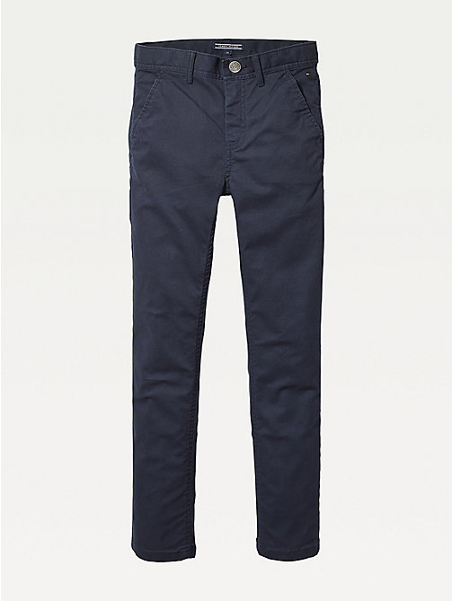 TOMMY HILFIGER Slim fit chino - SKY CAPTAIN - TOMMY HILFIGER Broeken - main image