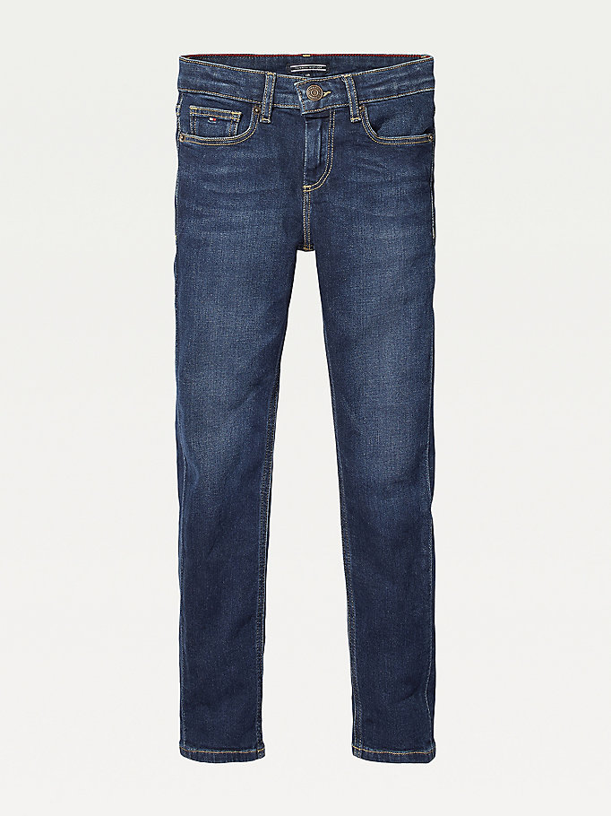 denim slim fit jeans for boys tommy hilfiger