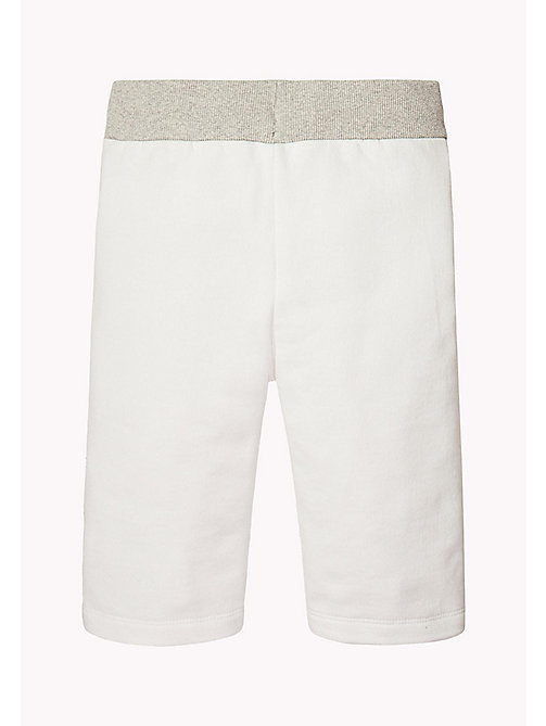 TOMMY HILFIGER Logo Sweatshorts - BRIGHT WHITE - TOMMY HILFIGER Gifts for Kids - detail image 1