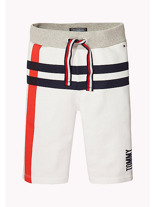 TOMMY HILFIGER Logo Sweatshorts - BRIGHT WHITE - TOMMY HILFIGER Gifts for Kids - main image