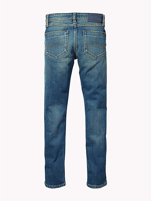 TOMMY HILFIGER Distressed Slim Fit Jeans - WANE NAPPY COMFORT STRETCH - TOMMY HILFIGER Boys - detail image 1