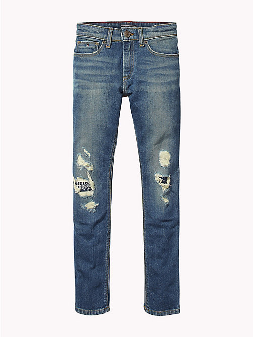 TOMMY HILFIGER Distressed Slim Fit Jeans - WANE NAPPY COMFORT STRETCH - TOMMY HILFIGER Jeans - main image