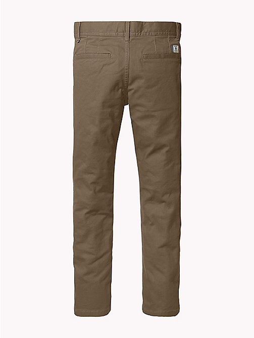 TOMMY HILFIGER Slim fit chino - WALNUT - TOMMY HILFIGER Broeken - detail image 1