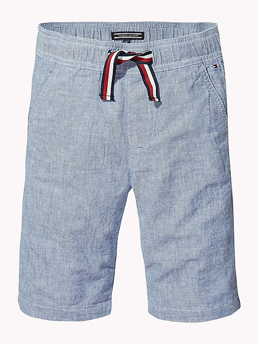 TOMMY HILFIGER Short chino - LIGHT BLUE CHAMBRAY - TOMMY HILFIGER Pantalons & Shorts - image détaillée 1