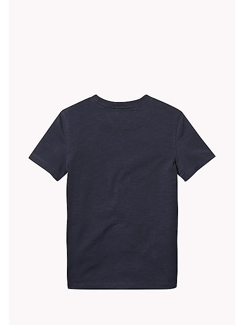 TOMMY HILFIGER Tommy Jeans Organic Cotton T-Shirt - BLACK IRIS - TOMMY HILFIGER T-shirts & Polos - detail image 1