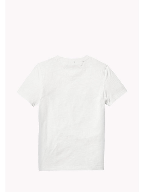 TOMMY HILFIGER Tommy Jeans Organic Cotton T-Shirt - BRIGHT WHITE - TOMMY HILFIGER Boys - detail image 1