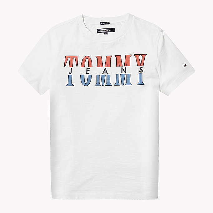 TOMMY HILFIGER Tommy Jeans Organic Cotton T-Shirt - BODACIOUS - TOMMY HILFIGER Kids - main image