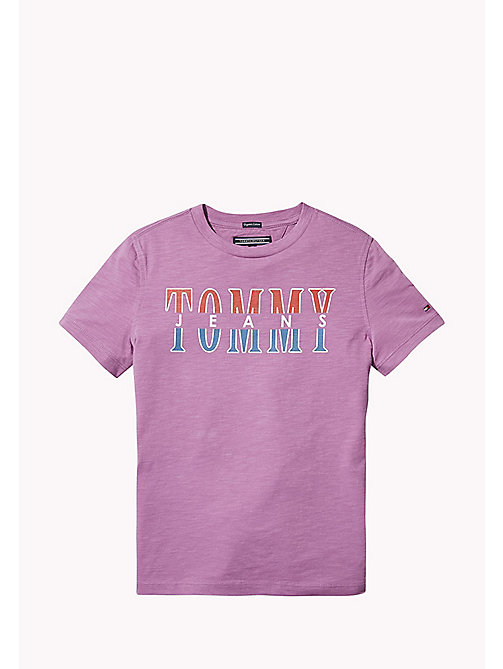 TOMMY HILFIGER Tommy Jeans Organic Cotton T-Shirt - BODACIOUS - TOMMY HILFIGER T-shirts & Polos - main image
