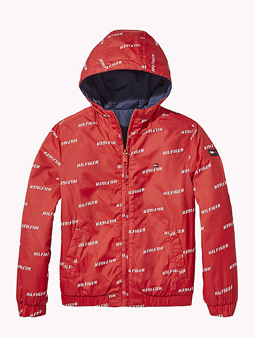 TOMMY HILFIGER Reversible Waterproof Jacket - LOLLIPOP - TOMMY HILFIGER Coats & Jackets - detail image 1