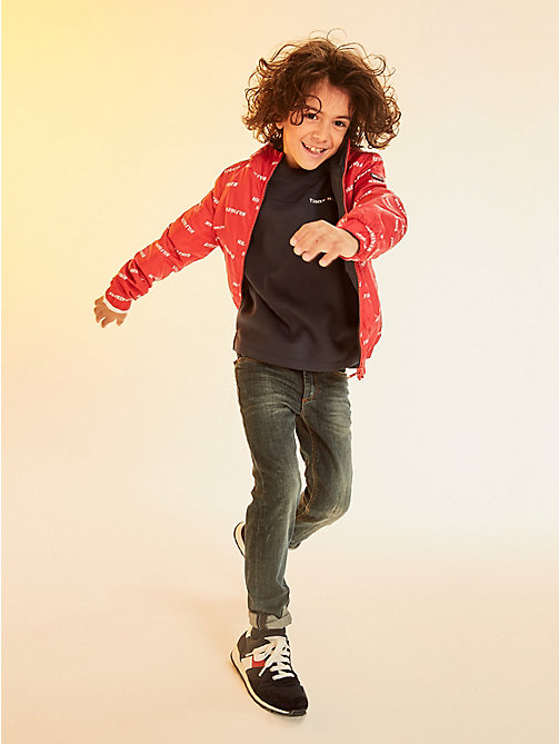 TOMMY HILFIGER Reversible Waterproof Jacket - LOLLIPOP - TOMMY HILFIGER Boys - main image