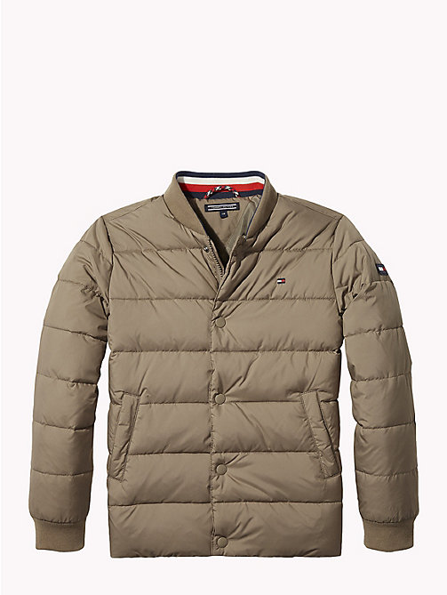 TOMMY HILFIGER Padded Jacket - WALNUT - TOMMY HILFIGER Coats & Jackets - main image