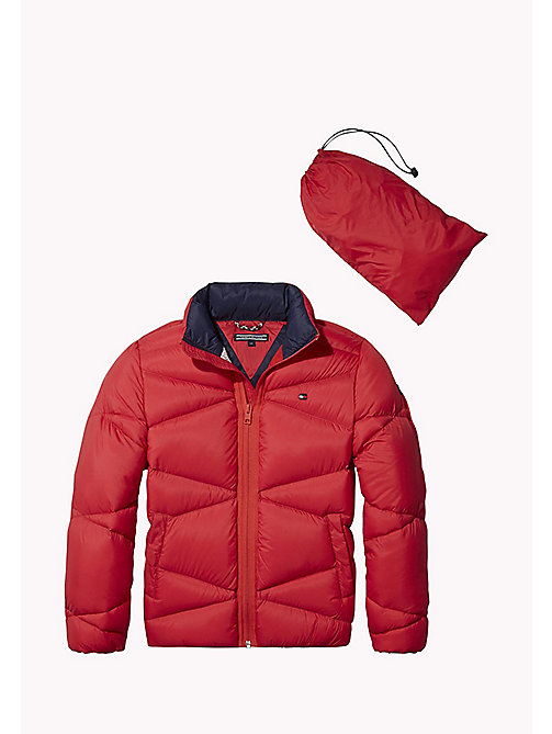 TOMMY HILFIGER Packable Light Down Jacket - LOLLIPOP - TOMMY HILFIGER Boys - main image