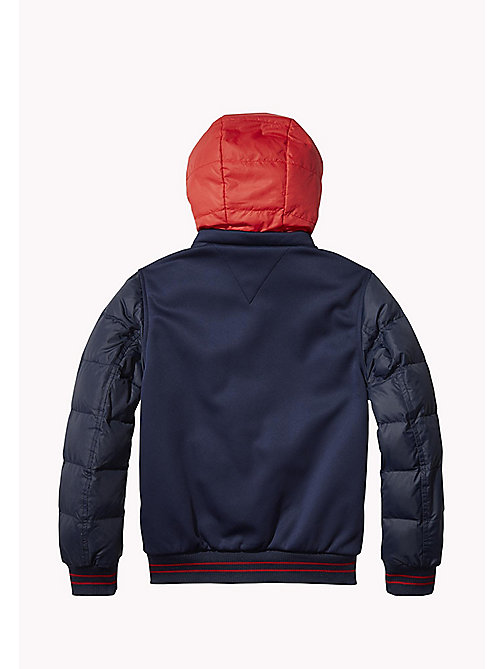 TOMMY HILFIGER Detachable Hood Sports Jacket - BLACK IRIS - TOMMY HILFIGER Coats & Jackets - detail image 1