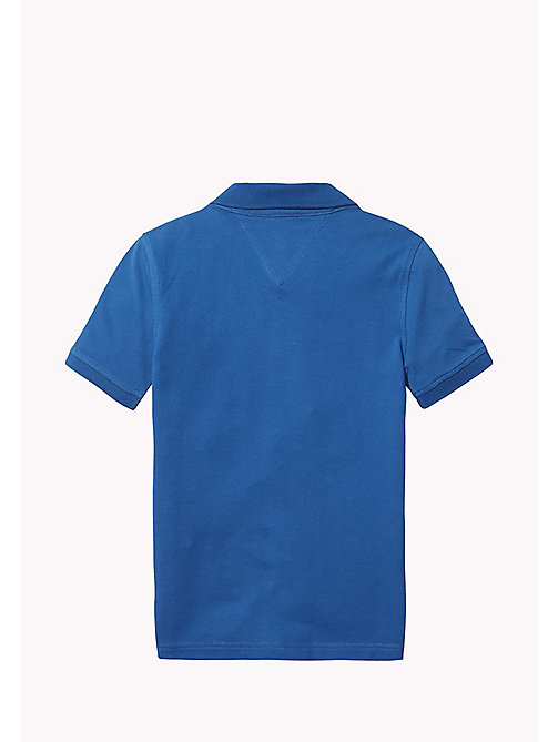 TOMMY HILFIGER Slim fit poloshirt - BLUE SAPPHIRE -  T-shirts & Polo's - detail image 1