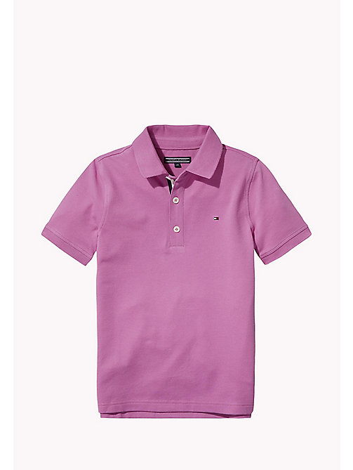 TOMMY HILFIGER Slim fit poloshirt - BODACIOUS - TOMMY HILFIGER T-shirts & Polo's - main image