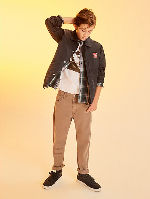 TOMMY HILFIGER 2in1 Jacket With Detachable Sleeves - BLACK IRIS - TOMMY HILFIGER Boys - main image