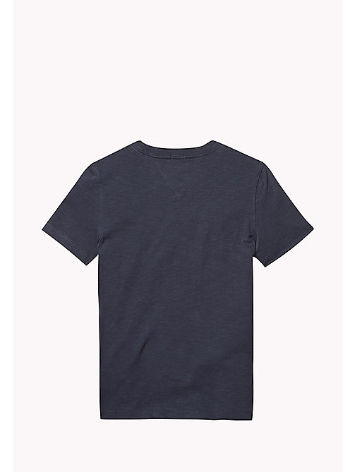 TOMMY HILFIGER Gradient Logo T-Shirt - BLACK IRIS - TOMMY HILFIGER T-shirts & Polos - detail image 1
