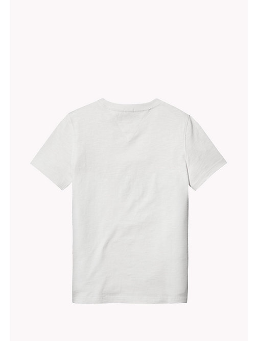 TOMMY HILFIGER Gradient Logo T-Shirt - BRIGHT WHITE - TOMMY HILFIGER Boys - detail image 1